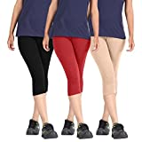 Rooliums Woman Super Fine Cotton Capri C...