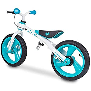 Eurekakids - Training Bike, bicicleta sin pedales, color azul (649091A)