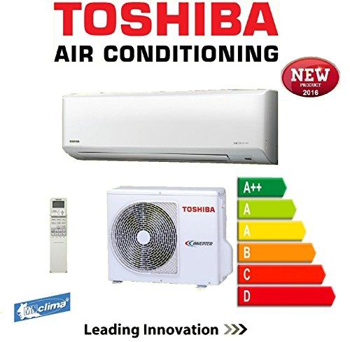 Climatizzatore condizionatore 22000 btu/h inverter toshiba a++ a+