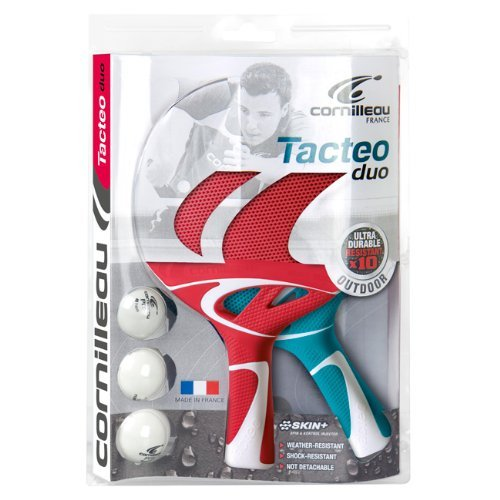 Racchette Ping Pong Tacteo Pack DUO (2 racchette & 3 palline) Cornilleau