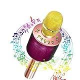Microphone Karaoke Sans Fil,Yaasier Micro Karaoké Bluetooth KTV Karaoké...