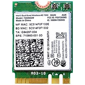 Intel Dual Band Wireless-AC 7260 2x2 Plus Bluetooth M.2: Amazon.de ...