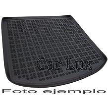 Car Lux AR03488 - Alfombra Cubeta Protector cubre maletero de goma y enrollable PREMIUM