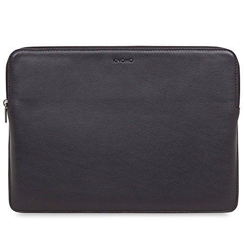 Knomo 45-101-BLK Barbican Notebook Sleeve 33,02 cm (13 Zoll) Leder schwarz