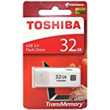 Toshiba Hayabusa 32GB USB 3.0 Pendrive (White)