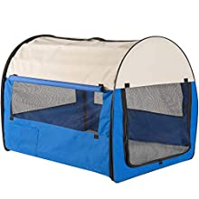 WeRChristmas Portable Pet Carrier/House with Mat