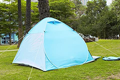 Camping Tent, Tecare 2-3 Person Tent Pop Up Water Resistant Camping Tent With Carry Bag for Backpacking, Ideal Shelter for Casual Family Camping, Hiking, Outdoor