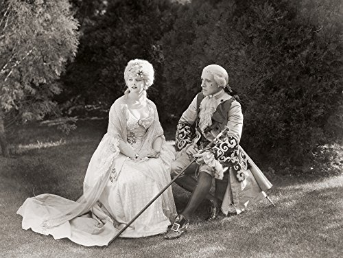 Scaramouche 1923. /Nalice Terry and Lewis Stone In A Scene from The Film Starring Ramon Navarro In The Title Role. Kunstdruck (60,96 x 91,44 cm)