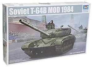 Trompetista Modelo T-64B Soviética Tanque Modelo 1984 Escala 1:35