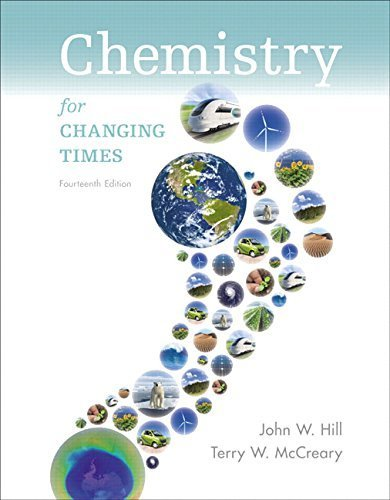 Chemistry for Changing Times Plus MasteringChemistry with eText -- Access Card Package (14th Edition) 14th edition by Hill, John W., McCreary, Terry W., Kolb, Doris K. (2015) Paperback
