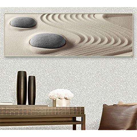 WP- Del estado de ánimo modernas pinturas minimalistas capítulo la pintura pintura decorativa del tamaño del restaurante del dormitorio sala de estar (50 * 150,44 * 124) ,