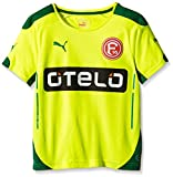 PUMA Kinder Trikot Fortuna Düsseldorf Third Shirt Promo - Replica Fit with Spo, Fluro Yellow, 176, 924040 01