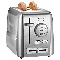 2 Slice Toaster : Cuisinart CPT-620 2-Slice Metal Toaster, Stainless Steel