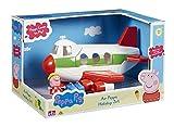 Peppa Pig - Avioncito de vacaciones, color blanco (Bandai 05592)