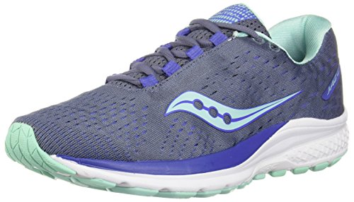 Saucony Women Jazz 20 Neutral Running Shoe Running Shoes Grey - Light Blue 4,5