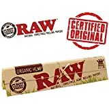 Radise Raw Organic Hemp Kingsize Slim Rolling Paper (32 Leaves)