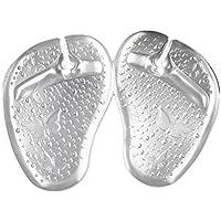Healifty Gel Kissen Vorfuß Pads Sandale Toe Protektoren Zehenspreizer Einlagen Kissen Pads 1 Paar (Transparent) preisvergleich bei billige-tabletten.eu