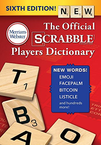 The Official Scrabble Players Dictionary, Sixth Edition por Merriam-Webster