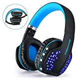Gaming Auricolare Bluetooth Beexcellent Glow Cuffie Bluetooth con Microfono per PS4 / Xbox One / Laptop / Cellphone immagine