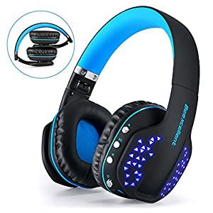 Gaming Auricolare Bluetooth Beexcellent Glow Cuffie Bluetooth con Microfono per PS4 / Xbox One / Laptop / Cellphone