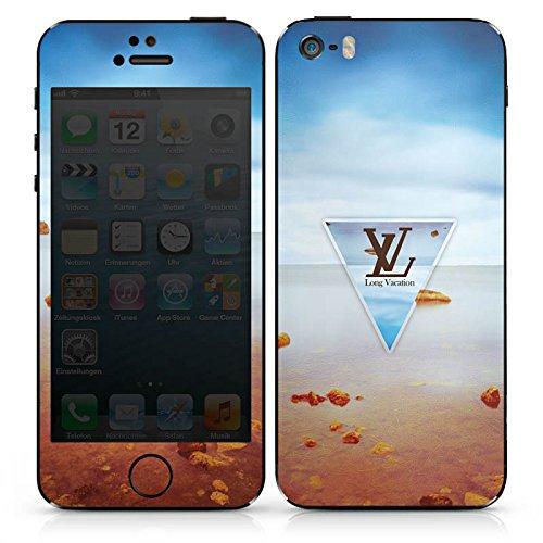 Apple iPhone 6 Case Skin Sticker aus Vinyl-Folie Aufkleber Urlaub Sommer Strand DesignSkins® glänzend