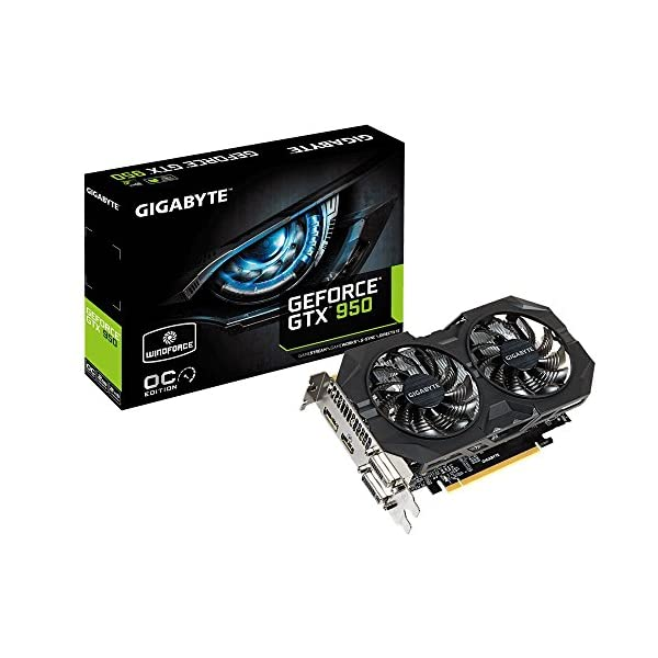 Gigabyte-GV-N950WF2OC-2GD-NVIDIA-VGA-GBT-GTX950-WindForce-OC-Grafikkarte-PCI-e-2GB-GDDR5-HDMI-2x-DVI-DP-1-GPU