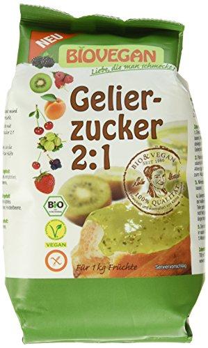 Bio Vegan Gelierzucker, 1er Pack (1 x 500 g)