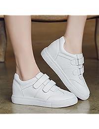 NGRDX&G Zapatos Blancos De La Pendiente Interior De Las Mujeres Con Zapatos Individuales Redondos Zapatos Casuales...