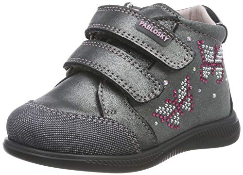 Pablosky 066450, Zapatillas de Estar por casa para Bebés, Gris Gris Gris, 24 EU
