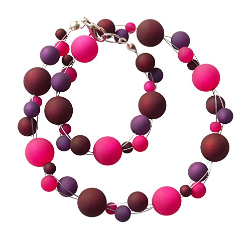 polariskette-beere-kette-pink-lila-polarisschmuck-neu-handgefertigt-46-zentimeter