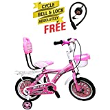 Speed Bird Cute Kids Cycle For Boys & Girls Age Group 3-6 Years - Children Cycle (pink)