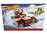 Hot Wheels DXH60 Advent Calendar with 8 New Hot Wheels decorated cars & 16 accessories