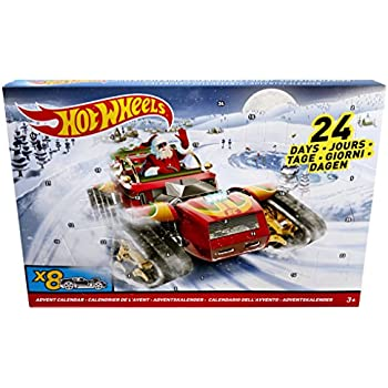 Hot Wheels DXH60 calendario dell' avvento 2017