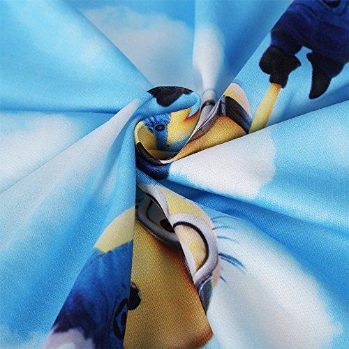 Charmley Femme Sweats à Capuche Pull Unisexe 3D Imprimé Hoodie Avec Pochette Sweatshirt Manches-Longues Sportif Multicolore Casual Pull 1011