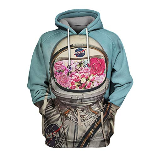Fairy jj Mode im Freien Pullover 3D-Digitaldruck Pullover Männermode lose Hoodies Paa