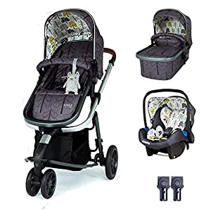Cosatto Giggle 3 Travel System in Fika Forest with Car Seat & Raincover   13