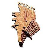 LLL 3D Wandaufkleber Engel Fee Gestalten PVC Schaumbrett Material DIY Hintergrund Wasserdicht Wandgemälde, Copper