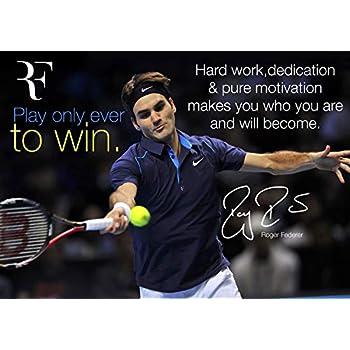 Salopian Sales Motivation - Roger Federer # 11