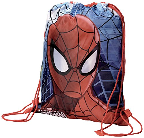 Spider-man signs sacchetto per calzature, 39 cm, multicolore
