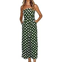 4bb817a317d06 Jumpsuit da Donna Casual Vestito Tuta Donna Tuta Elegante Donna Cerimonia  Tute da Cerimonia Senza Maniche