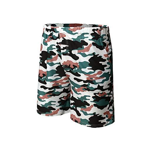 VWTTV Männer Tarnung Neue Multi-Pocket-Tooling-Shorts Baumwolle Multi-Pocket-Overalls Shorts Mode Hosen Overalls -