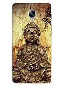 OnePlus 3T Case - Lord Buddha - Symbol of Peace - Meditative - Designer Printed Hard Shell Case