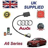 Auténtico Audi A6 Serie Ami Mmi Integrado Cable de Audio para Apple IPHONE 5 5c 5s 6...