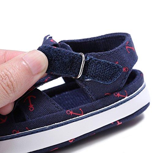 Etrack-Online  Baby Sandals, Baby Jungen Lauflernschuhe Blau