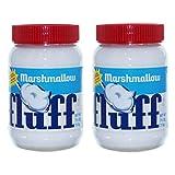 Fluff Marshmallow Natural Set de 2, para untar, untar, malvavisco, vainilla, 213 g, 42670