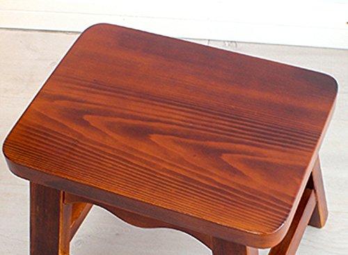 Stool sgabello piccolo in legno massello soggiorno sgabello