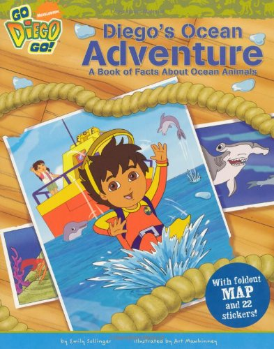 Diego's ocean adventure : a book of facts about ocean animals