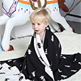 WANMT Babydecken Cotton Cotton Kinderdecke Knitting Blanket Multifunktionssofa-Deckenbezug, 100x130cm