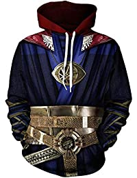 JUNMAONO The Avengers Doctor Strange Abrigo Hombre Poliester Capa Casual  Sudadera Cardigan Manga Larga Remata Otoño a2ebb5b5127ea