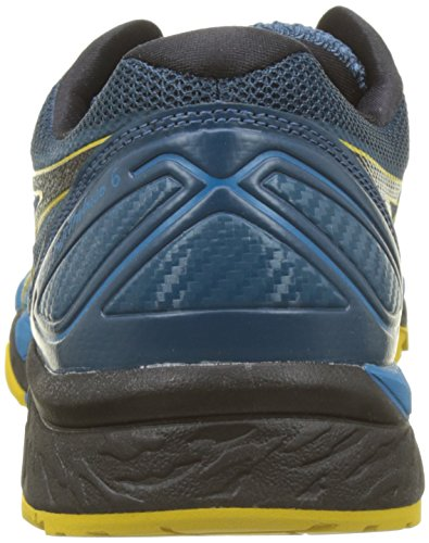 Asics Herren Gel-Fujitrabuco 6 Traillaufschuhe Blau (Turkish Tile/black/lemon Curry 4690)